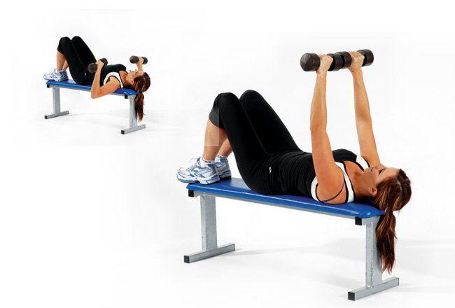 راهنما و برنامه تمرینی عضلات سینه برای بانوان
